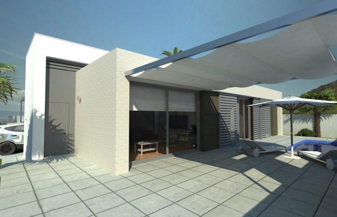 4 viviendas unifamiliares LARROCASA