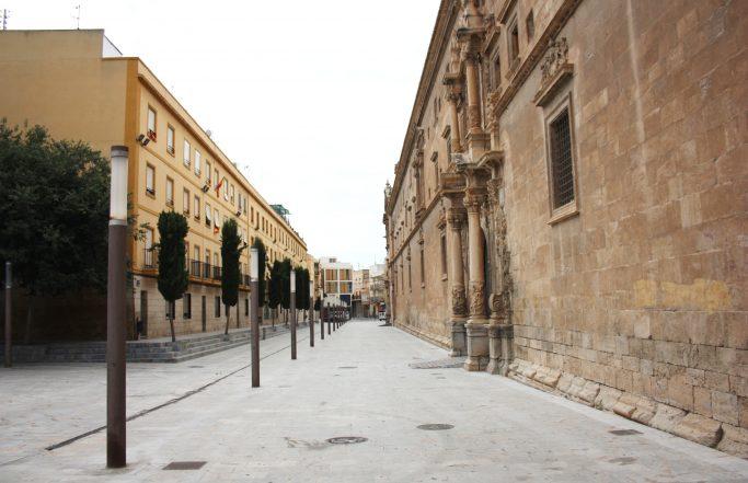 Urbanización del entorno de Santo Domingo. Orihuela