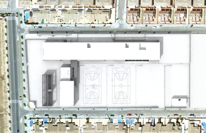 Proyecto básico de Instituto de educacion secundaria numero 2 de Pilar de la Horadada (Alicante)