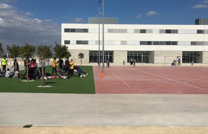 Centro Sección Educación Secundaria San Fulgencio (8 O + 2 AULAS + CAFETERIA + JPV + VIV)