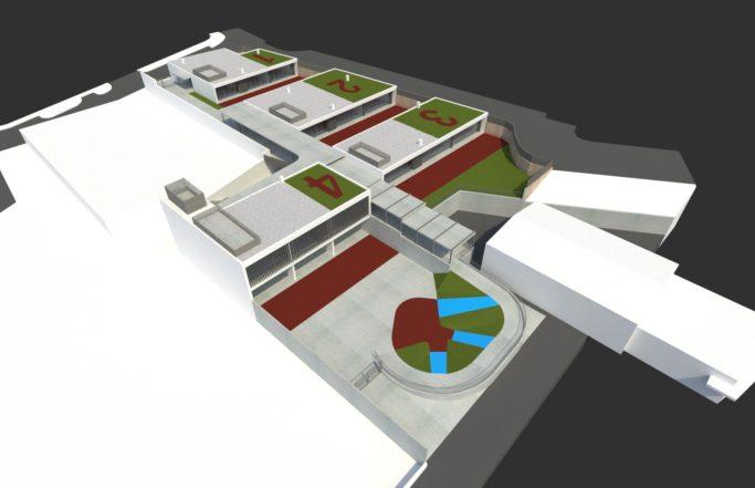 Proyecto básico y de ejecución ampliación (construcción) en C.E.I.P. San Vicent Ferrer, Teulada (Alicante)