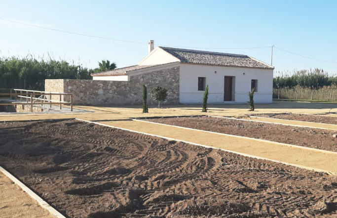 Rehabilitación casa de la huerta como centro de interpretación